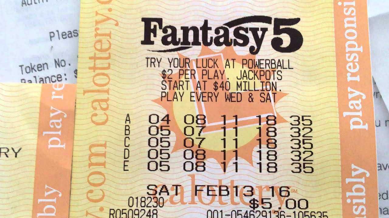 California fantasy 5 strategies