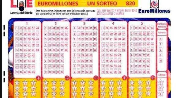 Euromillones - como se juega a euromillones