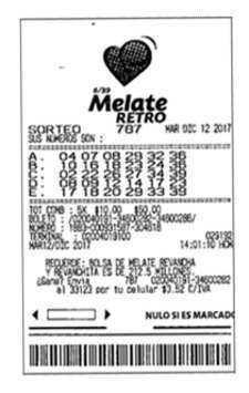 Mexico melate retro number generator