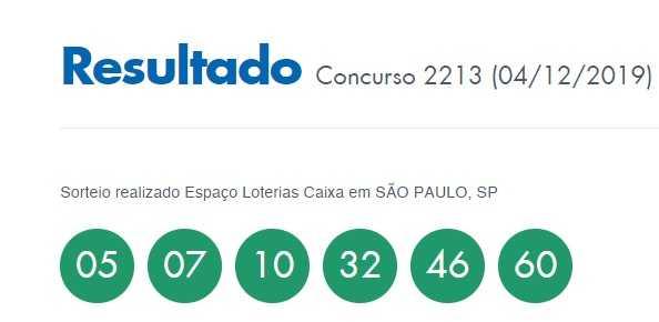 Бразильская лотерея mega sena