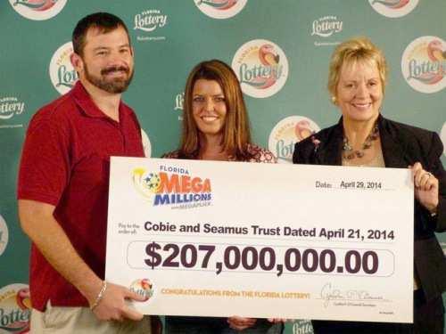 Самые крупные выигрыши в лотерею в мире